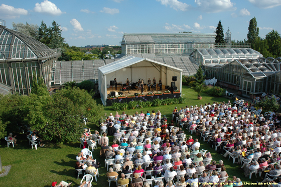 Sommerkonzerte im Botanischen Garten
