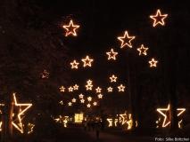 Der Sternengang am Eingang Königin-Luise-Straße