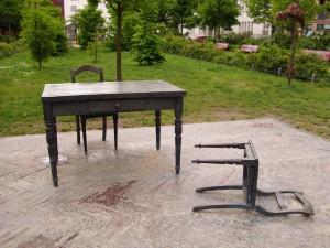Denkmal auf dem Koppenplatz Foto: Carsten Böttcher