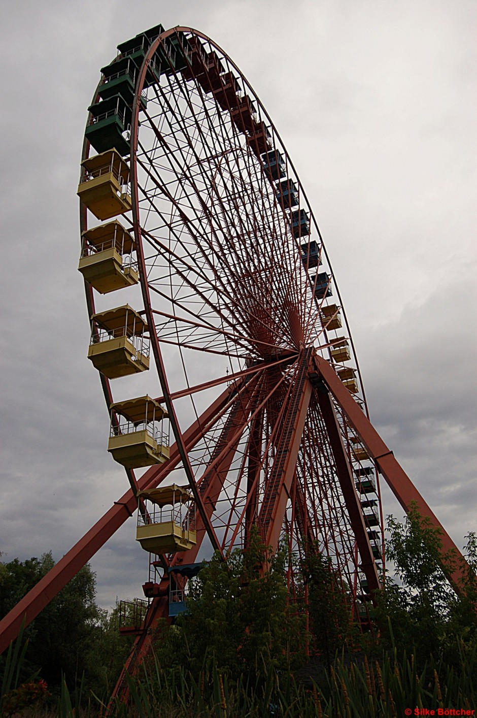 Riesenrad im Spreepark Foto: Silke Böttcher