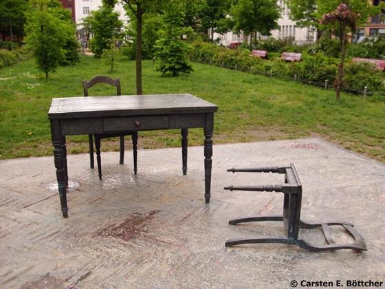"""""""Der verlassene Raum"""" am Koppenplatz"""