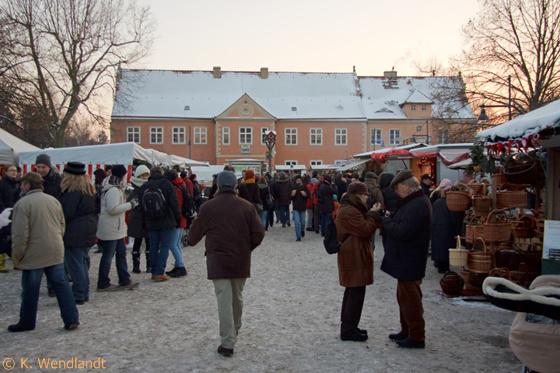 Adventsmarkt auf der Domäne Dahlem