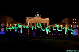 Earth Hour in Berlin