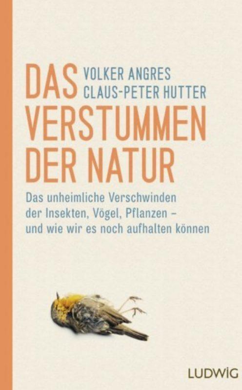 """Cover """"Das Verstummen der Natur"""""""