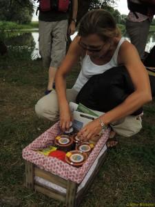 Blick in den Uckermärker Picknickkorb